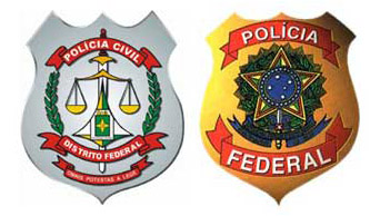 Brasões das Polícias
