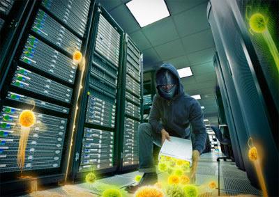 cibercrime servidores hacker malware