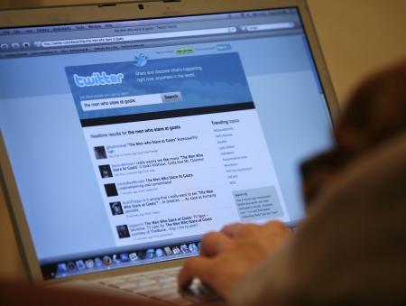 twitter computador redes sociais