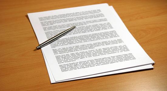 documento política papel caneta